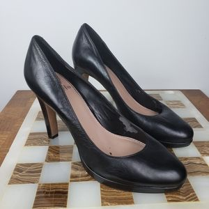 Vince Camuto Pump Heels Leather Upper Size 9B 39